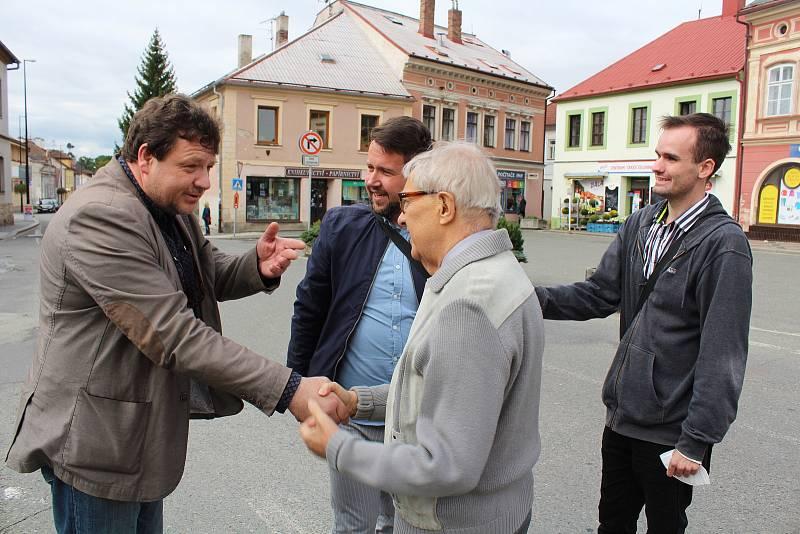 Miloň Čepelka v Dobrušce.