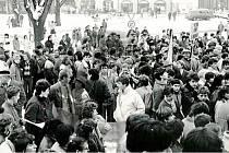 Revoluce v Rychnově nad Kněžnou - 23. listopad 1989.