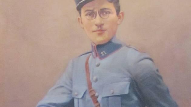 DOBOVÝ PORTRÉT LEGIONÁŘE Rudolfa Sehnoutky