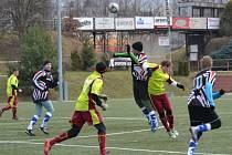 Osm branek padlo v přípravném utkání Dobruška – Lípa (6:2), které se hrálo na novoměstské umělé trávě.