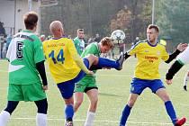 Krajská fotbalová I. A třída: Dobruška - Hostinné.