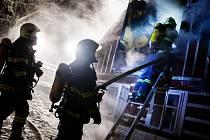 Na konci minulého roku bojovali s velkým a nebezpečným požárem, riskovali svoje životy.