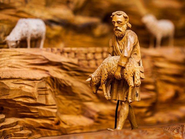 Utzův betlém v Olešnici
