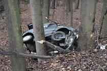 Po nehodě u Přepych zemřel řidič osobního vozidla