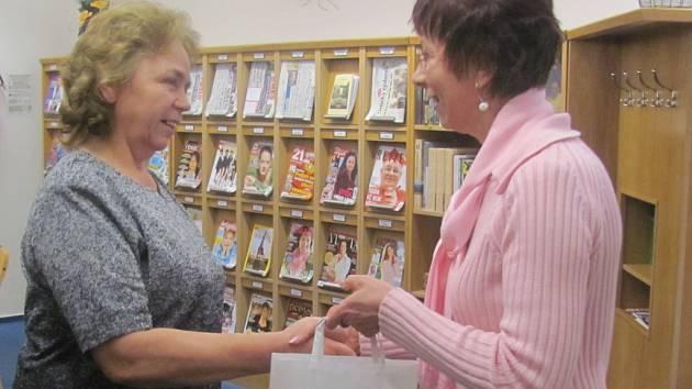 V oddělení dospělých přečetla nejvíce knih Jana Hladíková z Dobrušky.