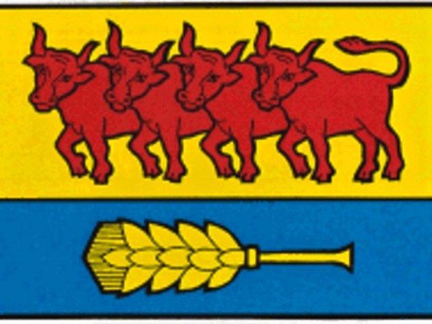 Obec Val má také svoji obecní vlajku.