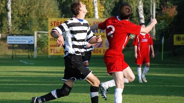 Fotbalové utkání Doudleby – Jaroměř 4:1.