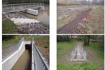 Zrekonstruovaná nádrž v Tutlekách má pomoci při povodních