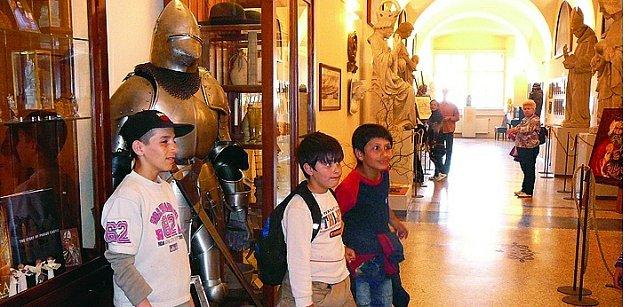 Kostelecké děti v Praze