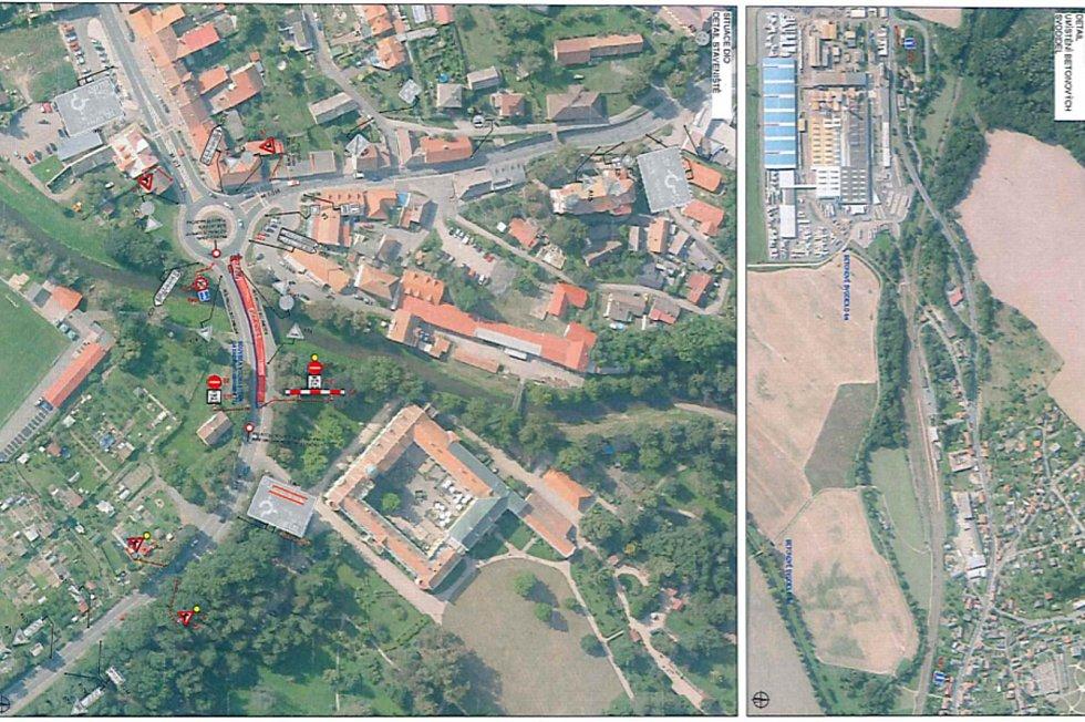 I. etapa rekonstrukce mostu v Častolovicích přinese dopravní omezení. Průjezd bude možný pouze v jednom jízdním pruhu, a to ve směru od Hradce na Kostelec.