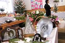 Na vánoční výstavu v Hlinném dorazily stovky návštěvníků.