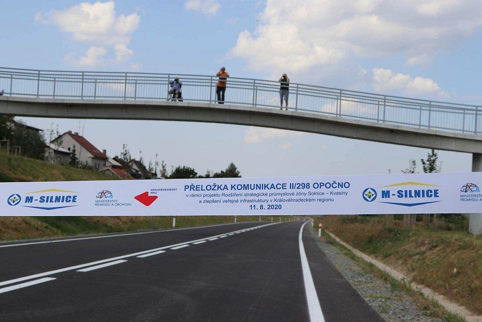 Na obchvat Opočna zatím motoristé nesmí. Foto: Deník/Jana Kotalová
