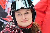 Skibobistka Stanislava Preclíková má před finálovým závodem Světového poháru důvod k úsměvu.