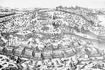 Bitva na Bílé hoře. Zobrazení připomíná okamžiky, po nichž následovalo jedno z největších ponížení českého národa.