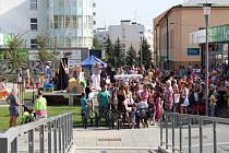 Otevření pěší zóny v Rychnově nad Kněžnou.