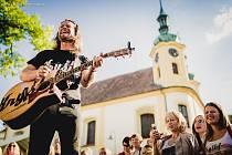 Vystoupení kapely Kryštof