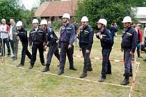Dobrovolníci změřili síly v požárním útoku