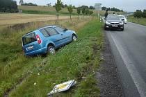 Dopravní nehoda u Solnice
