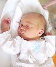 KRISTÝNA KŘEČKOVÁ se narodila manželům Monice a Radkovi Křečkovým z Dobrušky. Na svět se poprvé podívala 19. 11. v 11.02 hodin s váhou 3,17 kg a délkou 48 cm. Doma se na sestřičku těšila Karolínka. Tatínek byl mamince u porodu velkou oporou.