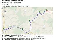 NEJKOMPLIKOVANĚJŠÍ bude trasa náhradní autobusové dopravy namísto vlakového spojení na trase Vamberk Rokytnice v Orlických horách. Na mapě jsou vyznačená místa, kde bude autobus zastavovat.