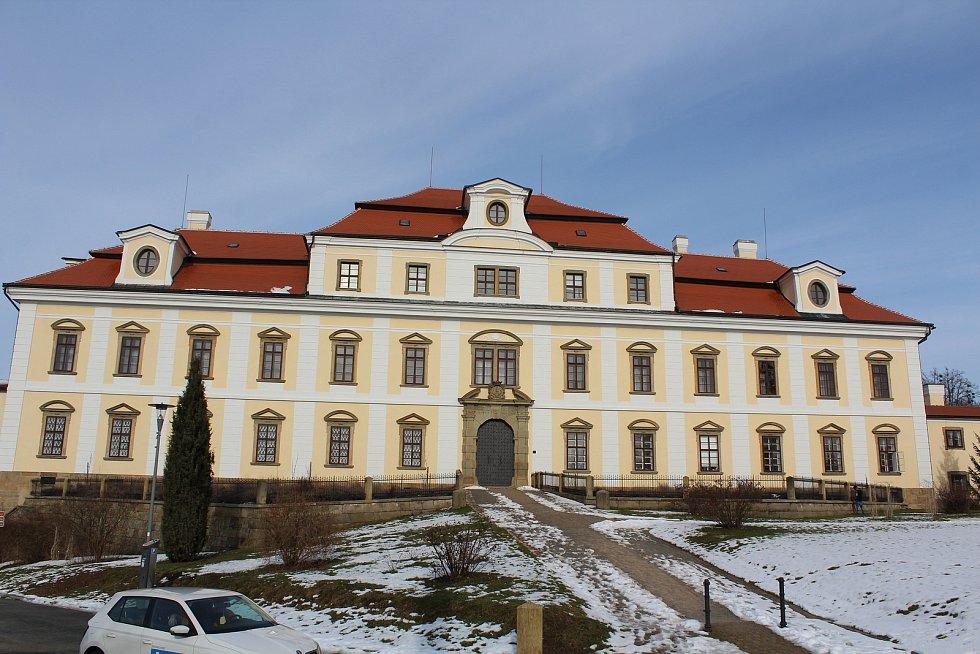 Rychnovský zámek.