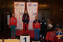 MISTROVSKÝ TITUL na 1,6 kilometru klasicky vybojovala na Pustevnách Zuzka  Holíková ze Ski Skuhrov nad Bělou.