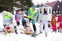 Lyžařská škola tradičně vyvrcholila karnevalem