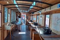 Po většinu roku opuštěné nádraží v Dobrušce ožilo. Přijel Legiovlak