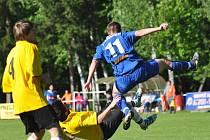 Fotbalisté Týniště nad Orlicí splnili na svém hřišti v souboji s rezervou Nového Bydžova úlohu favorita.