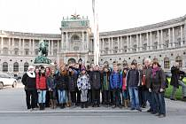 """""""Masaryčka"""" vyrazila na výlet do adventní Vídně"""
