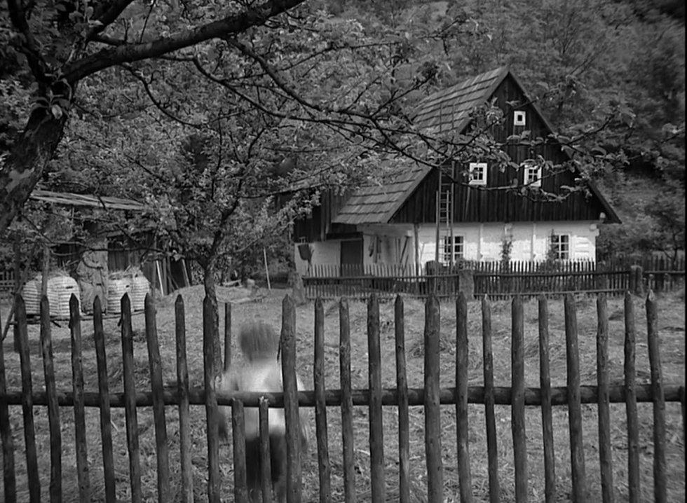 Žalmanova zahrada v seriálu.