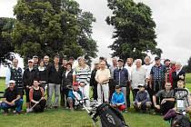 Setkání na golfovém hřišti v Nebeské Rybné