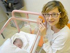 KAČENKA KLOFÁČOVÁ  se narodila 11. ledna ve 13:20 manželům Markétě a Martinovi Klofáčovým z Javornice. Holčička vážila 3230 gramů a měřila 48 cm. Tatínek byl u porodu úžasný, přestihl i pupeční šňůru.