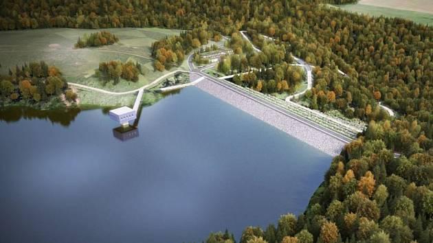 Příprava monstrózního vodního díla na Rychnovsku za 11 miliard se odkládá.