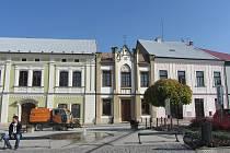 Vlastivědné muzeum se synagogou v Dobrušce.