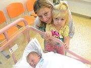 NATÁLIE LÁBUSOVÁ se narodila 25. září 2017 v 7:02 mamince Michaele a tatínkovi Lukášovi Lábusovým z Rychnova nad Kněžnou. Holčička po narození vážila 3870 g a měřila 50 cm. Tatínek byl u porodu a zvládl ho na jedničku. Doma se na sestřičku těšila Emička.