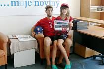 Václav Vaněček a Kateřina Vaněčková.