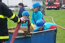 Mladí hasiči se sjeli do Ještětic