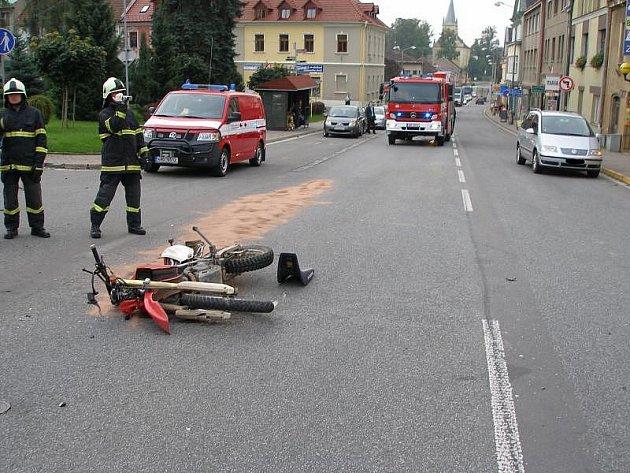 Dopravní nehoda - Solnice