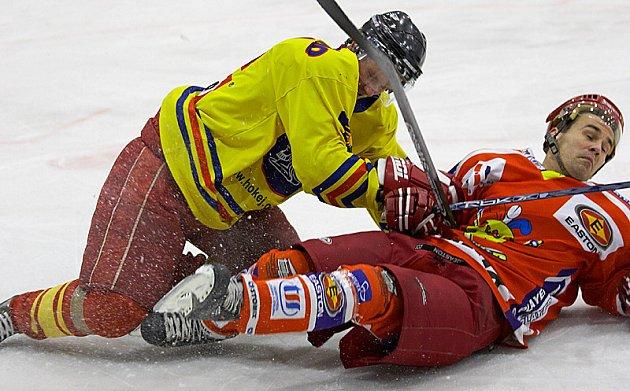 Hokejové utkání Třebechovice - Opočno