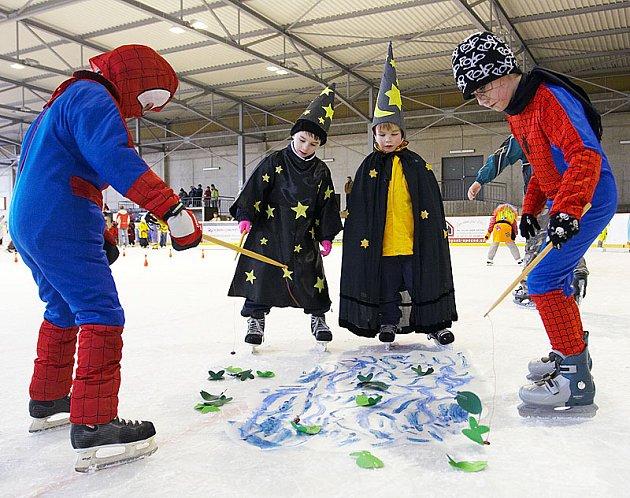Karneval na ledě v Opočně.