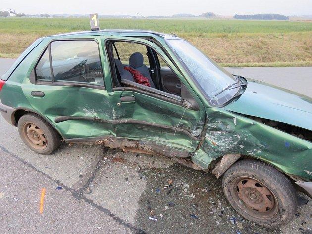 Dopravní nehoda v Dobrušce
