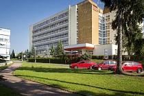 Areál nemocnice v Rychnově nad Kněžnou.