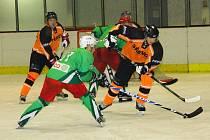 Čestičtí hokejisté na domácím rychnovském ledě nestačili na Dlouhoňovice a podruhé v letošní sezoně prohráli.