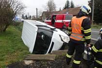 Nehoda v Lupenici.