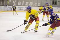 Hokejové utkání Opočno - Semechnice.