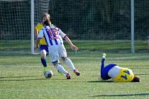 Krajský přebor ve fotbale: SK Dobruška - FK Kostelec nad Orlicí.