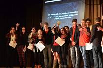 Vánoční akademie se studentůpm v Dobrušce vydařila.