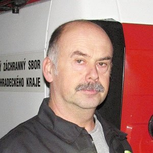 Profesionální hasič Lubomír Rýgl.