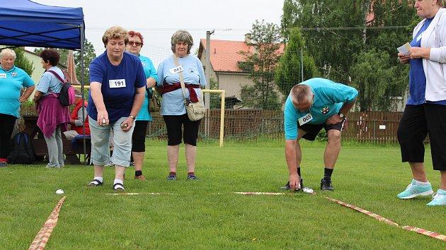 Sportovní hry seniorů Královéhradeckého kraje